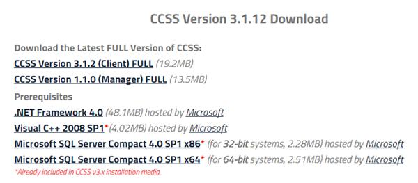 CCSSDownload